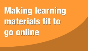 online learning materials