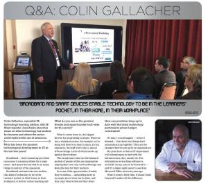 Colin Gallacher jisc